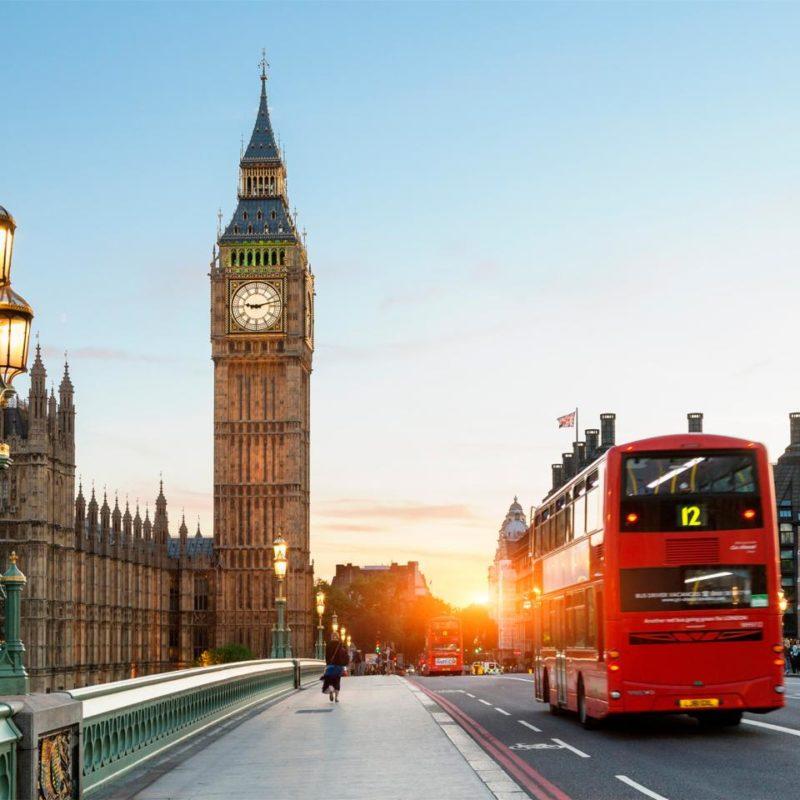 Traveling Through London, England