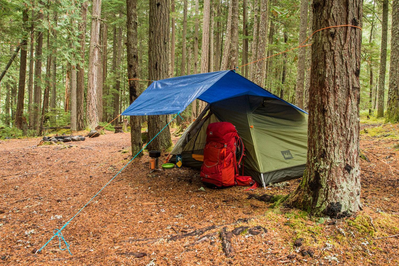 9 Cool Camping Hacks Involving Tarps Sweet Captcha