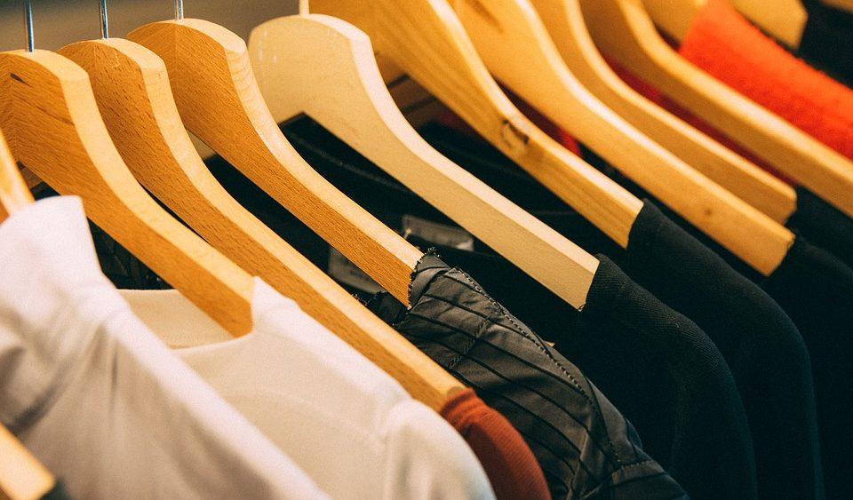 Clothing, Clothes, Indoor, Wood, Shirts, Coathanger